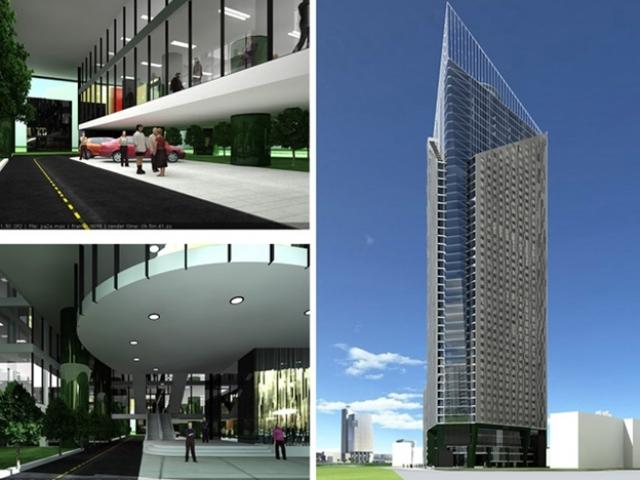 Tòa nhà hỗn hợp Tháp Doanh nhân ( 52 tầng)
