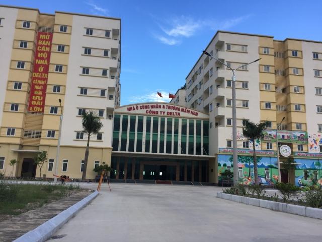 Khu nhà ở công nhân Delta - Thanh Hóa