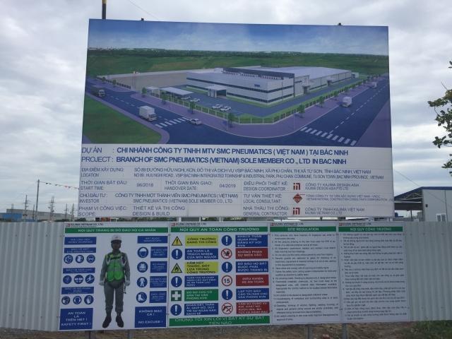 Nhà máy SMC - KCN Visip Bắc Ninh